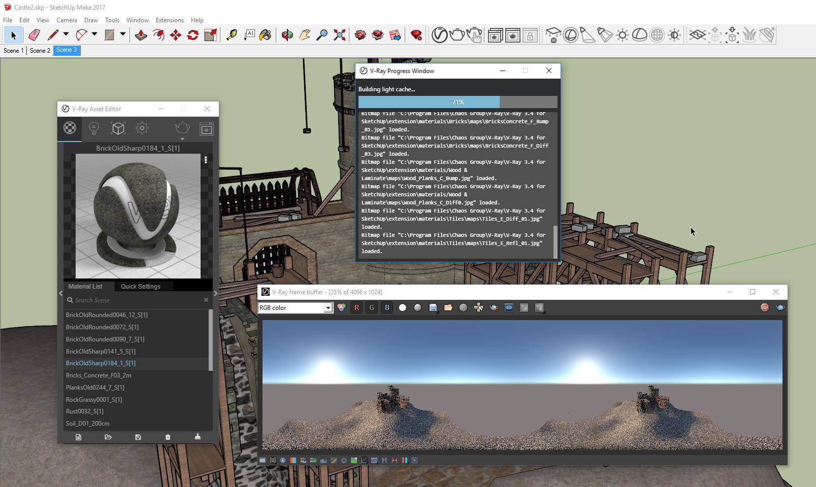 Batch Rendering with V-Ray in SketchUp - kasperhalkjaer com